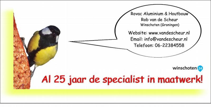 Rovac Kooienbouw,volierebouw,broedkooien,tuinschuur,tuinmeubelen op maat,Winschoten (Groningen) 25